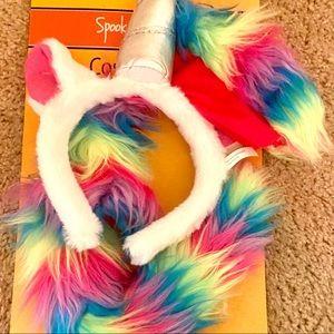 NWT Unicorn Accessory Kit (3 Piece Unicorn Costume